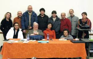 Del Giudice con docenti e allievi GEA