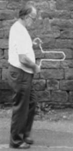 Hartmann con bacchetta bn