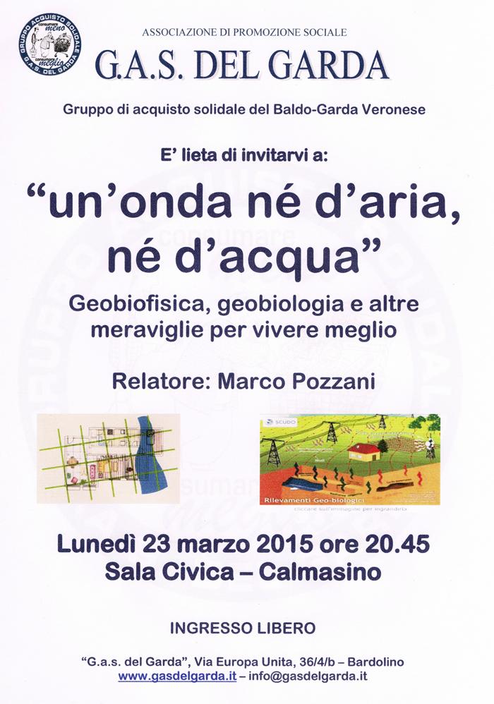 Conferenza Pozzani
